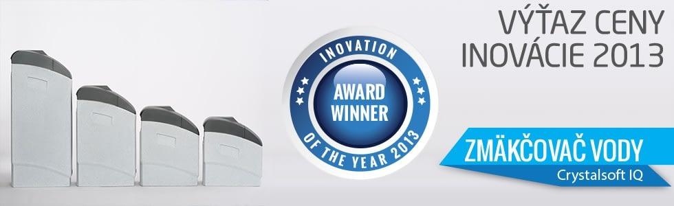 Kvalitný soľankový zmäkčovač vody Crystal SOFT IQ - víťaz ceny inovácie