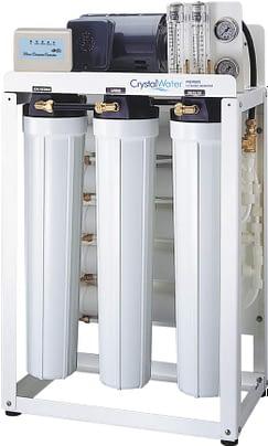 Komerčná reverzná osmóza s výkonom do 58 litrov demineralizovanej vody za hodinu